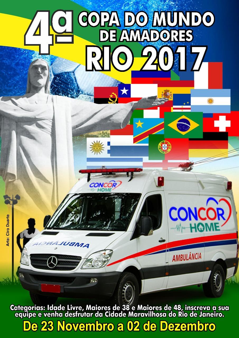 Seleção da ACERJ disputa Copa do Mundo no Rio