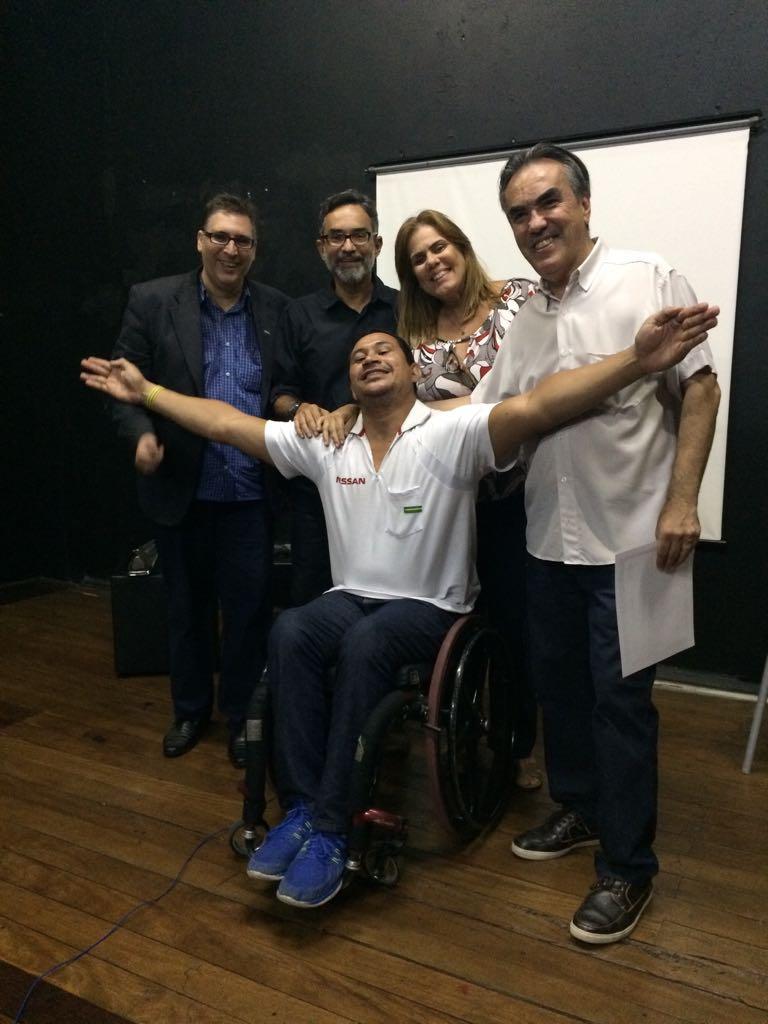 Aula inaugural do Curso ACERJ teve Clodoaldo Silva e Jorge Luiz Rodrigues